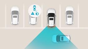 Varning för korsande trafik (RCTA)