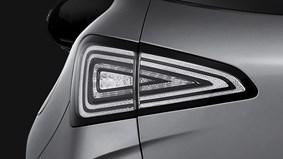 LED-bakljus