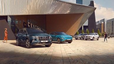 Se Hyundais utbud av elektriska bilar
