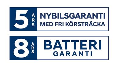 8+5 Batteri Garanti Combined