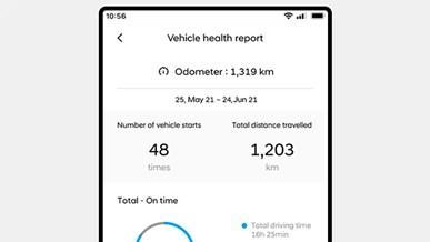 Kontroll av fordonsstatus