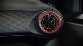 Dynamiska röda detaljer
